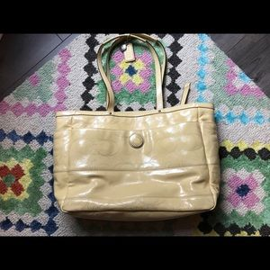 Other - Coach leather diaper bag